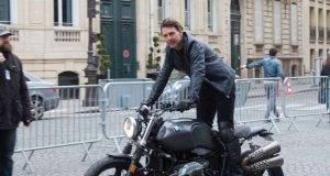Tom Cruise filming 'Mission: Impossible 6' in Paris